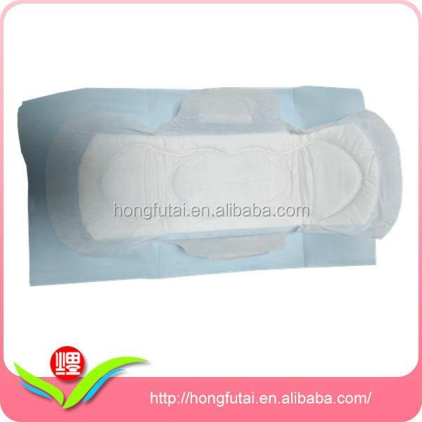 Cheap Heavy Flow Sanitary Napkin with Pe Package