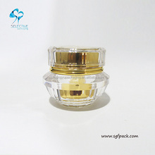 200g acrylic cosmetic jar crystal cream jar acrylic jars for cosmetics
