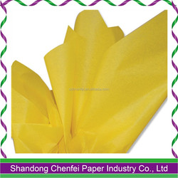 17gsm MG quality colored tissue paper colored wrapping paper