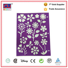 Home decor DIY plastic wall painting stencils