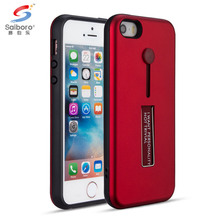 Mobile phone accessories finger ring holder case covers for iphone 5 5s 5 se kickstand