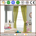 cotton linen embroidered simple curtain design for children room