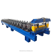 2017 Hot sale ibr roof panel roll forming machine , high rib roof tile making machine