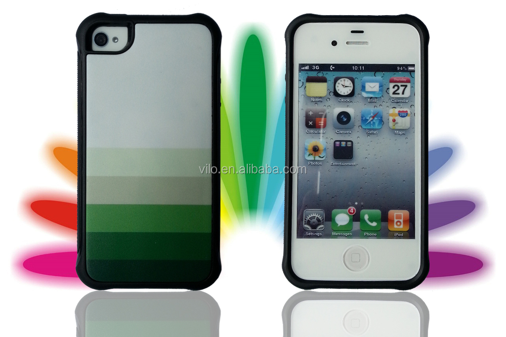 Super Slim Figure Print Protect Fashion TPU cover for iphone 4G Case