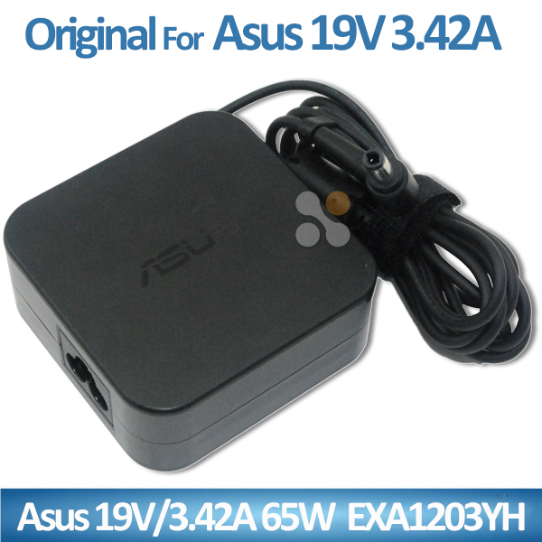 ORIGINAL/OEM universal laptop charger for asus ac dc adapter 19V 3.42A 65W EXA1203YH