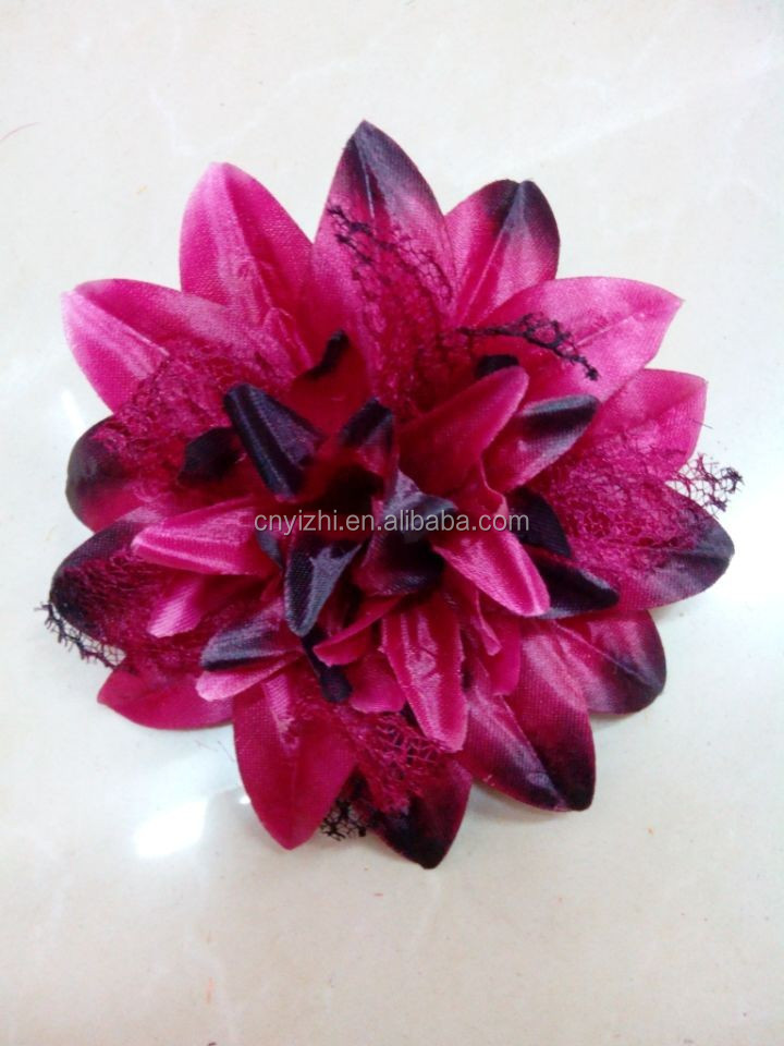 Wholesale artificial flowers/high end silk flowers/hair accessoriesYZT1-1674
