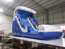Popular Commercial Giant Ocean Wave Inflatable Slide with Best Price for Kids
