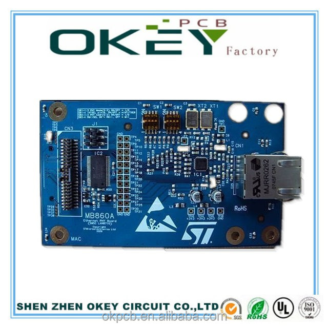 Okey circuit one stop service power amplifiers Copper FR4 PCB