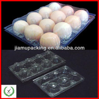 China wholesale 8/12/15/20/30 cavities clear plastic blister egg tray