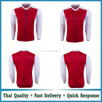 Wholesale 16-17 football teams long sleeve soccer jersey t shirt