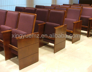 Church pew, solid wood church furniture