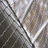 Flexible China factory price stainless steel cable mesh fence