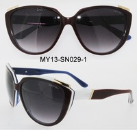 Newest cat eye sunglasses high quality acetate eyewear polarized sunglasses
