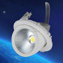 15W Round COB With Driver Passed CE ROHS LED Gimbal Embedded LED Trunk Lamps Lighting