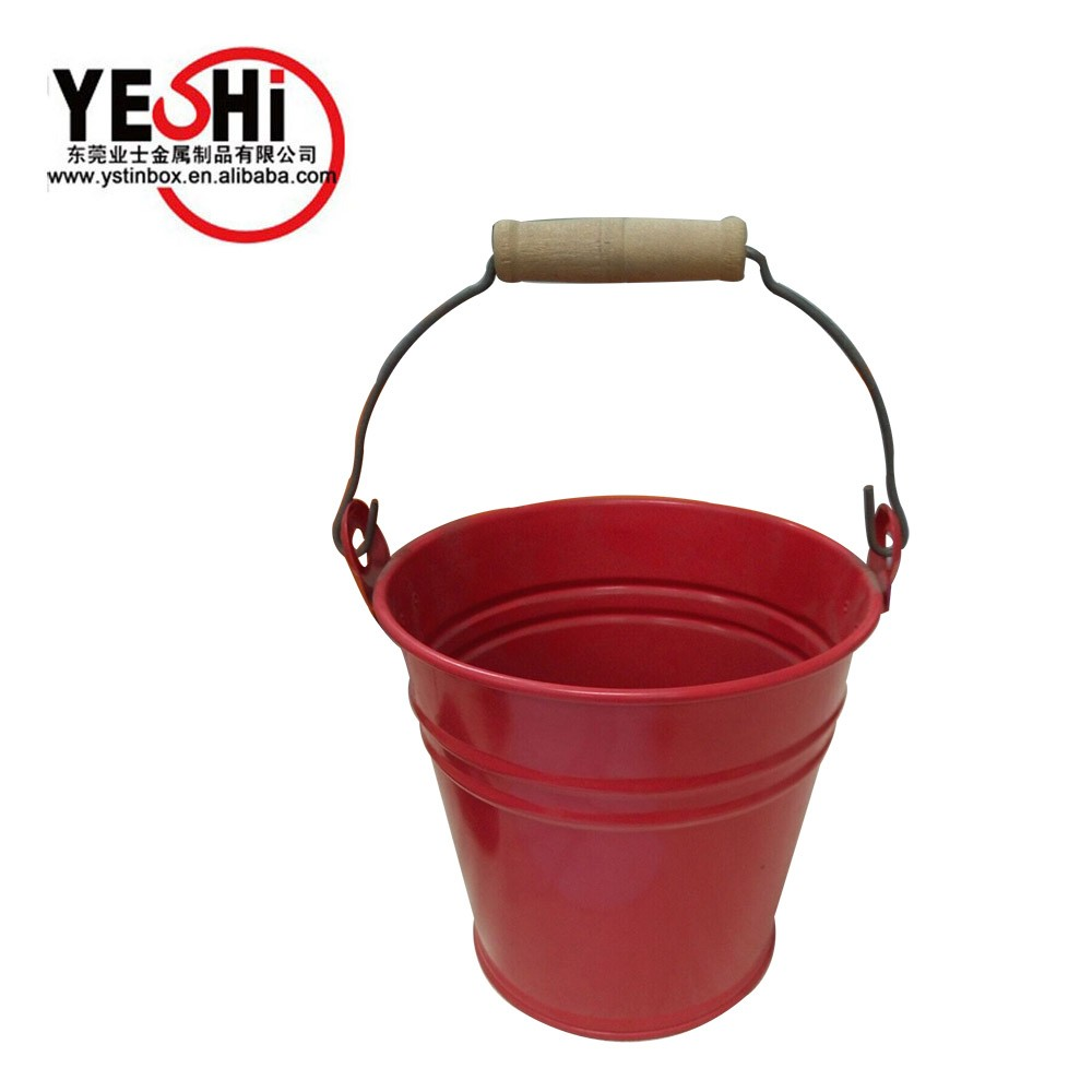 Tinplate Material and Eco-Friendly Feature wholesale mini tin buckets