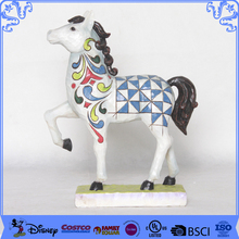 Stylish Garden Ornament Resin Figurines Polyresin Horse Statue