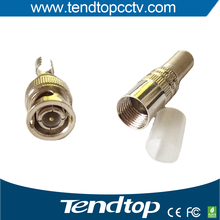 Hot Selling CCTV BNC Connector for HD CVI TVI AHD Analog Cameras