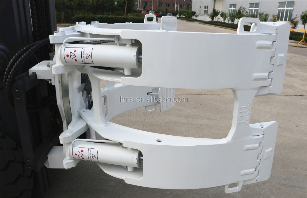 China 3 ton deisel clamp forklift truck for paper roll