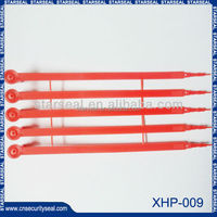 XHP-009 plastic seals cable tie / plastic security seal / security meter seal
