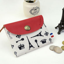 Languo fashion paris style pocket coin holder/coin purse model:LGFL-2587