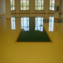 Color paint for concrete floor used epoxy primer