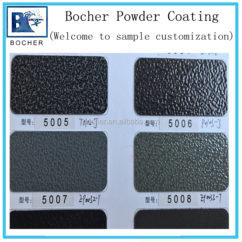 Texture powder coating rough surface of spray powder paint