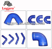 Silicone Hose 45/90/135/180 degree elbow reinforce hose logpro