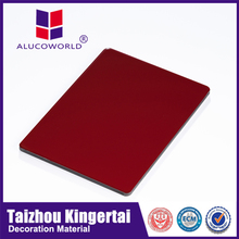Alucoworld colorful decorated materials light weight and hard wearing new building materials 2012