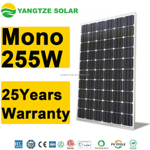 Renewable energy mono 255W solar pv panels disadvantages