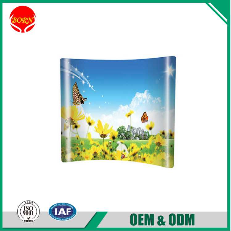 Outdoor Aluminum ABS top Bars with 3M Adhesive PVC Panels Cheap Pop Up Displays