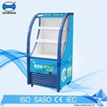 Vertical Used Dairy and Pepsi Slim Display Visi Cooler, Open Visi Cooler Refrigerator For sale
