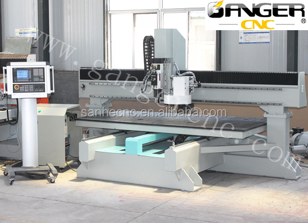 Latest <strong>development</strong> of CNC Router !!! heavy duty router SH-1325ATC disc style with Table-moving