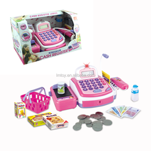 Powerul and Fashion B/O Children Cash Register Toy Set with Microphone