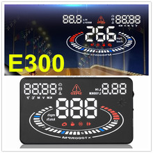 2016 E300 OBD2 speed limiter sold hud gps navigation heads up display in cars
