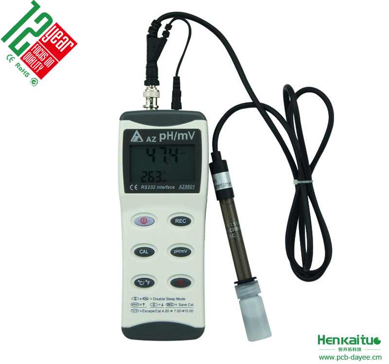 High Accuracy Portable Water Tester Measuring Temperature Digital ORP PH Meter Probe Price