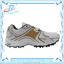 2016 New design Cheap spike Golf shoes with high quality skid-resistance sports shoes for wholesale
