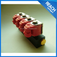 IP65 12VDC/3Ohms 4 CYL Rail Injector For LPG