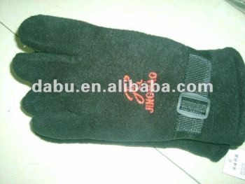 fashion embroidery winter cotton glove
