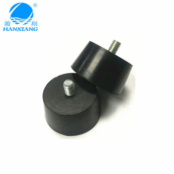 China suppliers wholesale M8 screw fix rubber feet with OEM for furniture