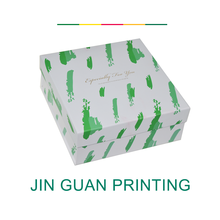 Custom high quality printing paper gift packaging box