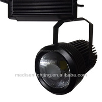commercial 20W high CRI Clear glass COB LED Track Light for shop Track Lighting project