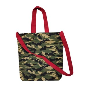 New fashion cotton canvas tote bag beach bag camouflage color