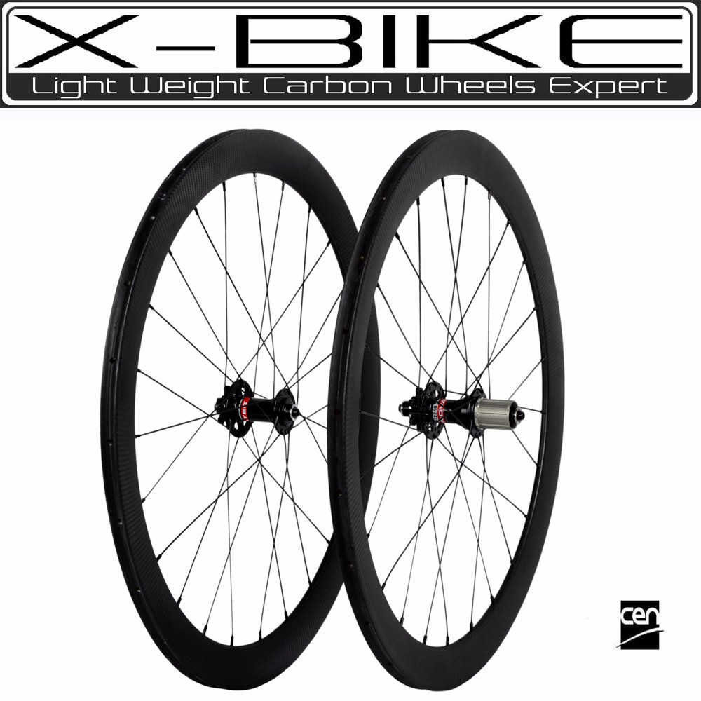 Chinese manufacture high performance 700c disc brake wheels with lightest weight carbon wheel