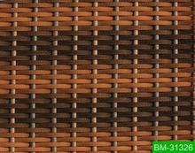 Hot sale uv resistant synthetic braiding rattan material for garden furniture