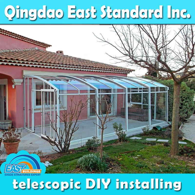 East Standard polycarbonate patio room kits