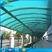 Blue hollow sheeting pc lexan polycarbonate sheet price suppliers