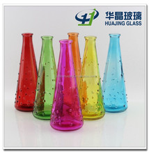 flower glass vase single glass flower vase glass bottle flower vase