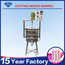 New arrival 70L lipstic heating filling machine Lipstick heating mixing barrel Lipstick heating mixer