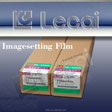 Size 457mm*60m Huaguang New Imagesetter Film with Konica Film Formula used on ECRM Mako