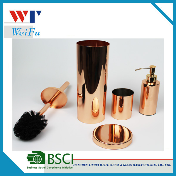Hotel stainless steel copper plated bathroom <strong>accessories</strong>